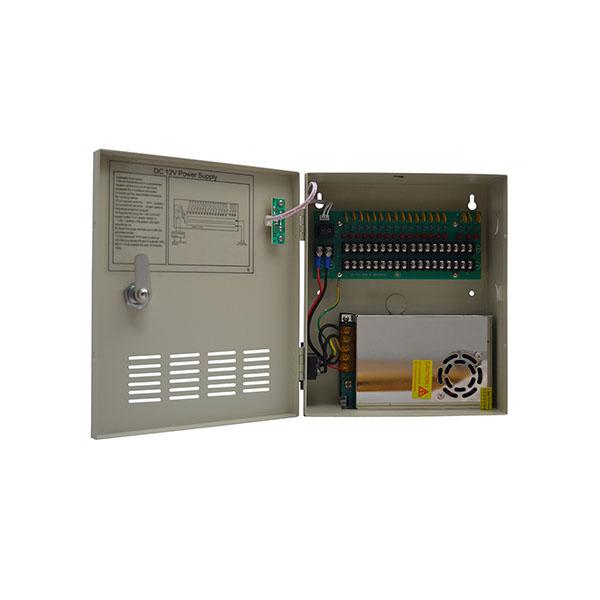 18 Way 20 Amp Wall Power Supply Unit